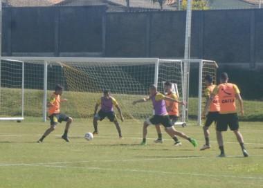 Atividade intensa na parte física para os jogadores do Tigre