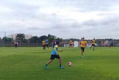Atletas do Tigre em intenso trabalho técnico de preparação