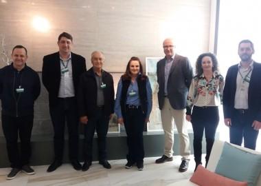 Comitiva FIESC Sul visita Empresa Torrecid do Brasil