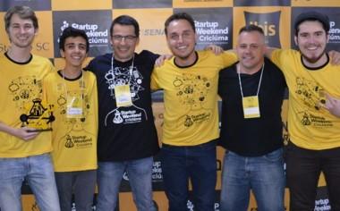 Startup Weekend Criciúma 2017 conhece os vencedores