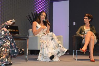 Sabrina Parlatore compartilha sua experiência no tratamento contra o câncer