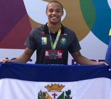Medalha de prata de Siderópolis nos JASC foi conquistada por atleta da casa