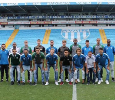 Seleção Catarinense Sub-20 se apresentou nesta quarta (22)