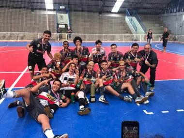 Sub-16 de Siderópolis conquista a Série Ouro de futsal da LUD