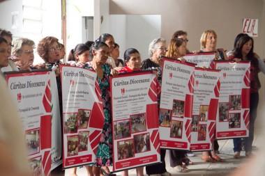 Cáritas Diocesana celebra 14 anos com almoço solidário