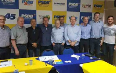 Rodada de convenções do PSDB deve incluir Rincão