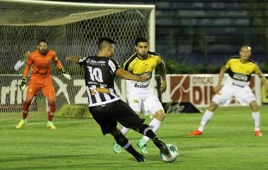 Fora de casa o Tigre venceu o Tupi pela Série B