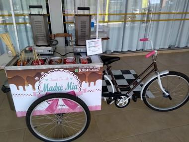 Exposição Food Bike Madre Mia traz deliciosos crepes ao Center Shopping
