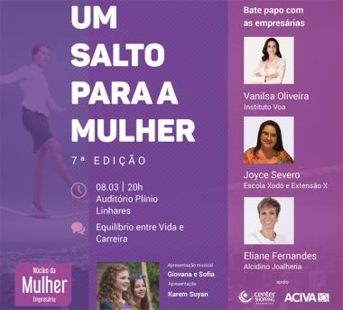 Evento em Araranguá vai promover a força da mulher empresária