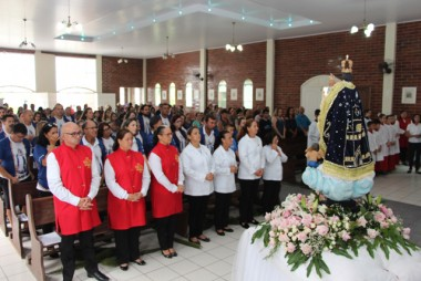 Paróquia realiza 3ª novena em honra Nossa Senhora Mãe dos Homens