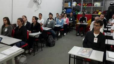Corpo de Bombeiro Militar em Içara inicia novo curso de CBAE