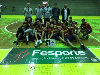 Siderópolis é campeão do Microrregional dos Joguinhos Abertos