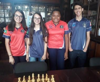 Xadrez Içara classificado para Seletiva Nacional Gymnasiade 2018