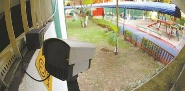 Escolas, creches e unidades de saúde podem ter câmeras