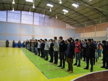 Jovens recebem dispensa do serviço militar em Urussanga