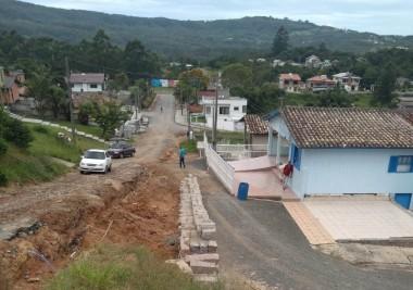 Inicia mais uma obra de pavimentação em Siderópolis