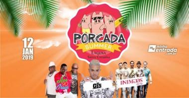 Porcada Summer antecipa o Carnaval em Laguna