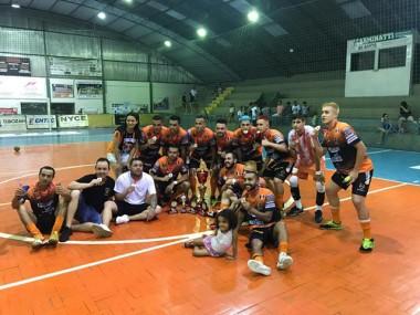 Destemidos é campeão municipal de futsal de Siderópolis
