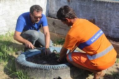 Barra Velha recebe 100 mudas para horta escolar