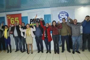PMDB, PSD e PCdoB de Maracajá promovem reunião