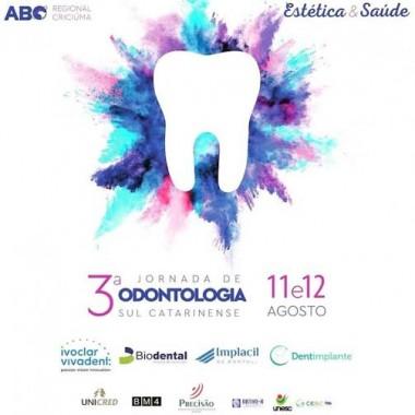 Dentistas e universitários se reúnem na 3ª Jornada de Odontologia Sul Catarinense