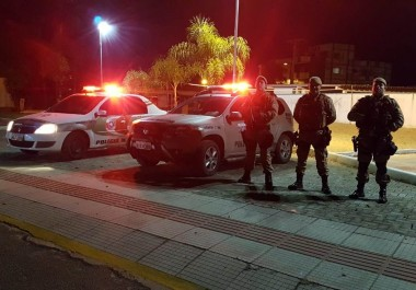 PM realiza operação de Maracajá e Balneário Arroio do Silva
