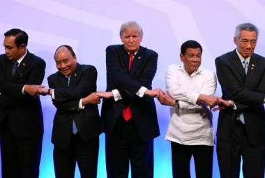 Sudeste Asiático inicia, com Trump, reunião em Manila