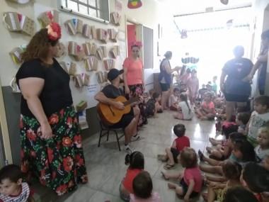 Mostra Musical encerra projeto do CEI Afasc Carmela Benedet Casagrande