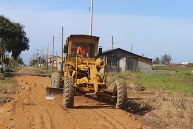 Ruas da Zona Sul em Balneário Rincão recebem melhorias