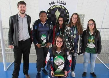 Equipe de xadrez de Içara vence o FECAJ 2018