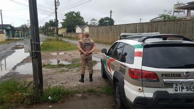 PM de Araranguá reforça ostensividade no bairro Polícia Rodoviária