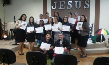 Setor de Cristo Rei teve discipulado para professores de crianças