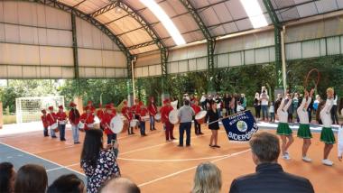 Fanfarra municipal de Siderópolis prepara-se para desfile cívico