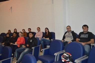 Turma do CEJA assiste sessão da Câmara Araranguá