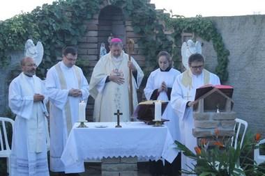 Mosteiro de Maracajá abre suas portas em missa para a comunidade