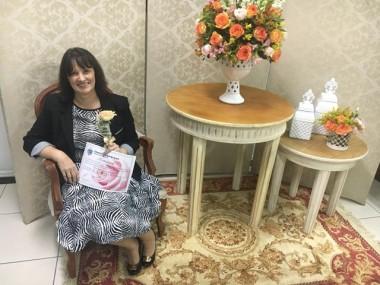 Pastora Iliani recebeu homenagem na Câmara de Vereadores de Içara