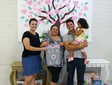 CEI Afasc Pequeno Polegar integra famílias em atividade escolar