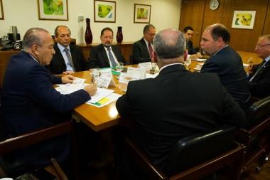 Ministro da Casa Civil recebe representantes da mídia regional