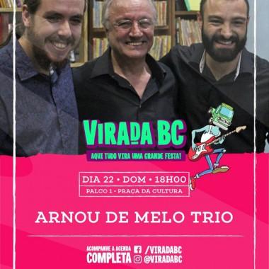 Arnou De Melo Trio faz show na Virada Cultural de Balneário Camboriú