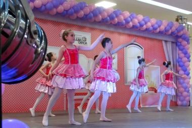 Festival de Balé Infantil é atração no Criciúma Shopping
