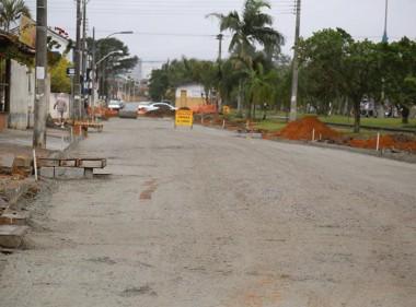 Avenida Procópio Lima é preparada para receber asfalto