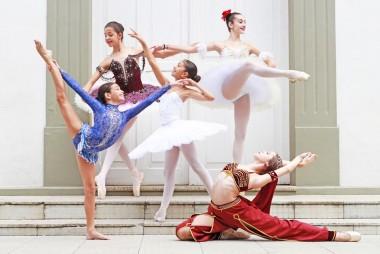 Bailarinas içarenses participam de festival no Rio de Janeiro