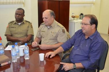 Colegiado Regional de Governo reúne-se no 9º Batalhão de PM
