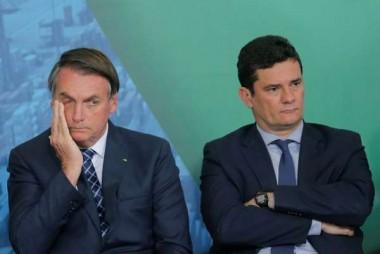 Bolsonaro diz que Moro é egoísta e não ajuda durante a crise