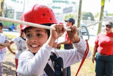 Projeto Bombeiro Mirim contempla crianças do CRAS Jaqueline