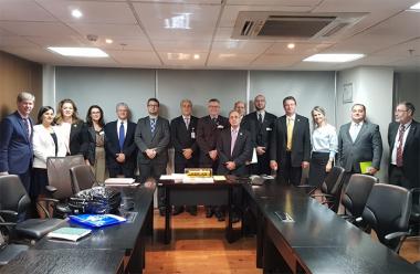 Unesc participa de agendas em Brasília