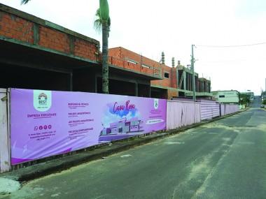 Construção da Casa Rosa é uma realidade em Içara