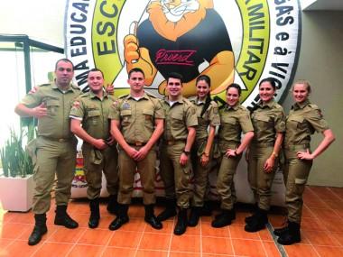 Policiais Militares participam de curso de formação do Proerd