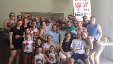 Família Réus realiza encontro de confraternização