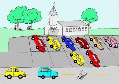 Revitalização e estacionamento